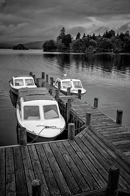 Photograph - Boats In Waiting by Christopher Rees
