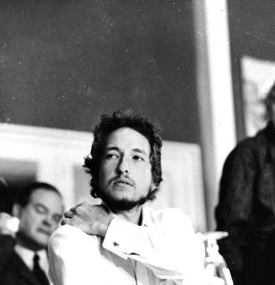 Photograph - Bob Dylan by Chris Wood
