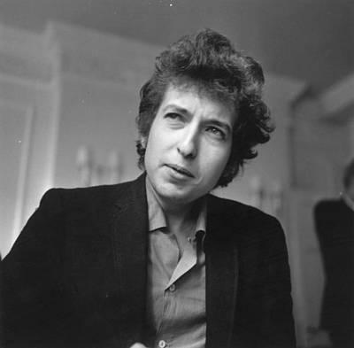 Photograph - Bob Dylan by Evening Standard