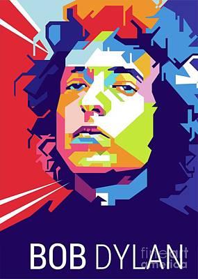 Bob Dylan Popart Original