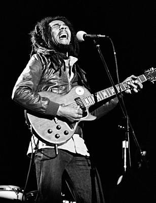 Photograph - Bob Marley - California by Ed Perlstein