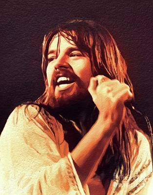 Jazz Painting Royalty Free Images - Bob Seger, Music Legend Royalty-Free Image by John Springfield