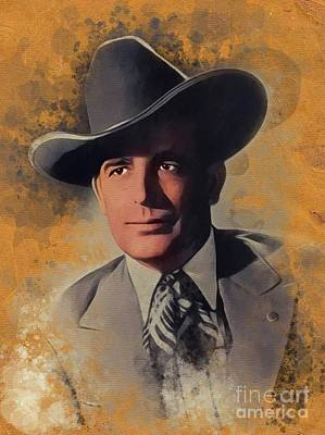 Jazz Royalty Free Images - Bob Wills, Music Legend Royalty-Free Image by John Springfield