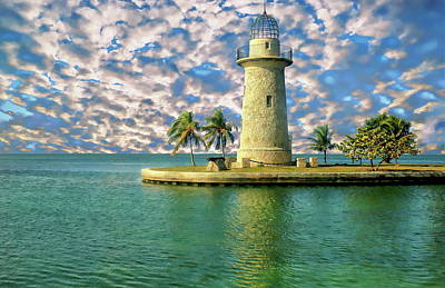 Photograph - Boca Chita Key Lighthouse by Anthony Dezenzio
