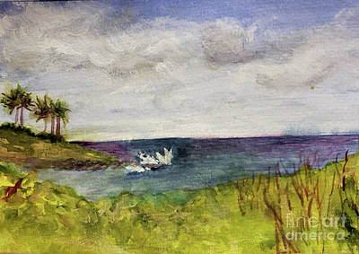 Painting - Boca Inlet Study 3 by Donna Walsh