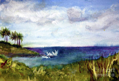 Painting - Boca Inlet Study by Donna Walsh