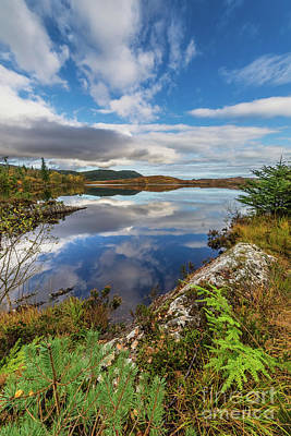 Photograph - Bodgynydd Lake Snowdonia by Adrian Evans