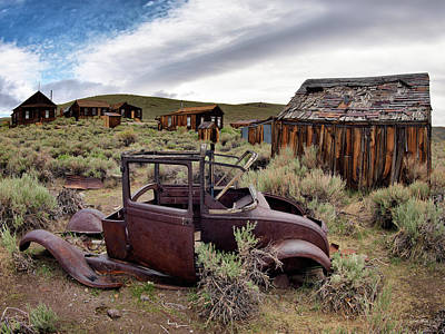 Photograph - Bodie 3 by Leland D Howard