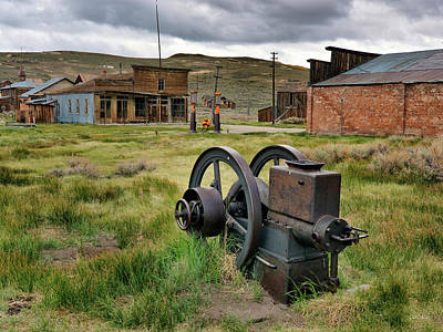 Photograph - Bodie 4 by Leland D Howard