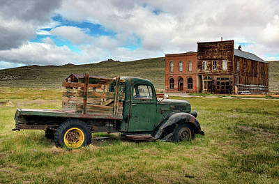 Photograph - Bodie 5 by Leland D Howard