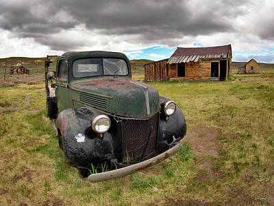 Photograph - Bodie 6 by Leland D Howard