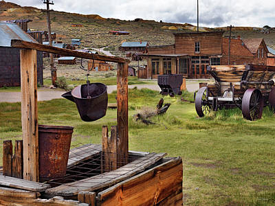 Photograph - Bodie Ghost Town by Leland D Howard