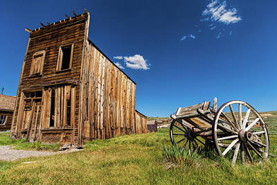 Photograph - Bodie Ghost Town Swazey Hotel by Dan Carmichael