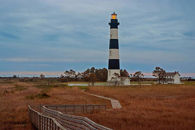 Photograph - Bodie Island Lighthouse No. 4 by Matthew Irvin