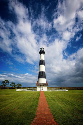 Photograph - Bodie Lighthouse Clouds by Alan Raasch