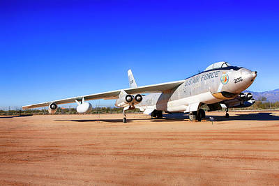 Photograph - Boeing B47 Sac Bomber by Chris Smith