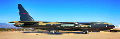 Travel Rights Managed Images - Boeing B52D SAC Bomber Royalty-Free Image by Chris Smith