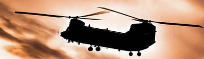 Photograph - Boeing Ch-47 Chinook  In Shadow by Scott Lyons