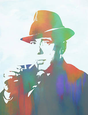Painting - Bogart by Dan Sproul