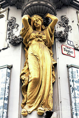 Photograph - Bognergasse Girl In Vienna by John Rizzuto