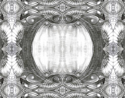 Digital Art - Bogomil Variation 3 by Otto Rapp
