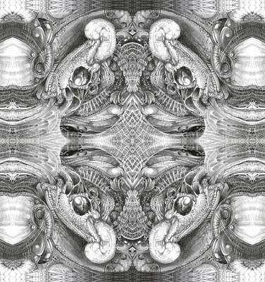 Digital Art - Bogomil Variation 5 by Otto Rapp