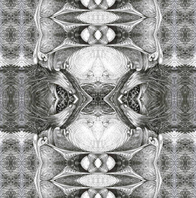 Digital Art - Bogomil Variation 7 by Otto Rapp