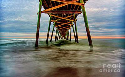 Photograph - Bogue Pier1 by DJA Images