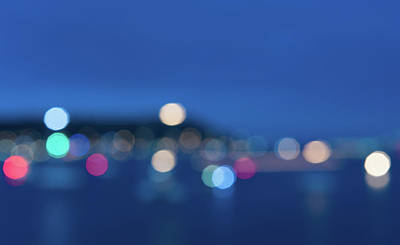 Photograph - Bokeh Seascape by Helen Northcott