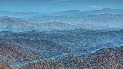Photograph - Bold Mountains by Allen Nice-Webb