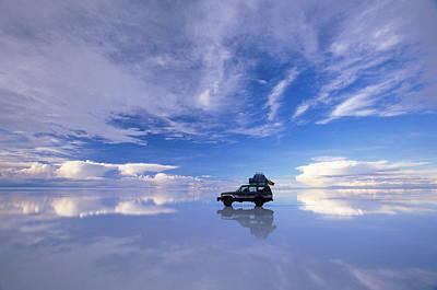 Latin America Photograph - Bolivia, Salar De Uyuni, Expedition by Art Wolfe