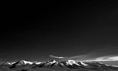 Photograph - Bolivian Mountain Range by © Kristian Leven