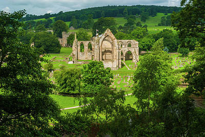 Photograph - Bolton Abbey, Yorkshire Dales by David Ross