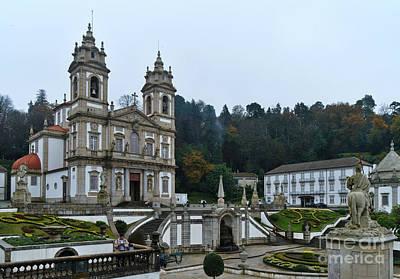 Photograph - Bom Jesus Do Monte In Braga by Angelo DeVal