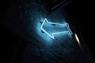 Photograph - Bombolini Pasta Neon Sign by Doug Ash
