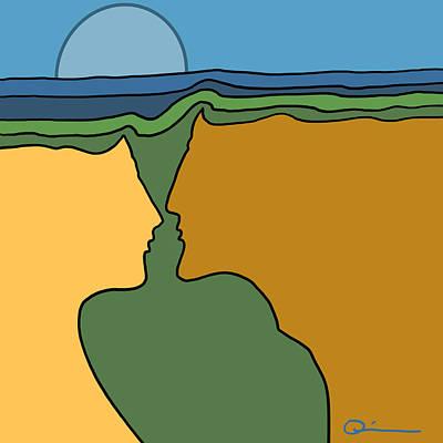 Digital Art - Bonds by Jeff Quiros