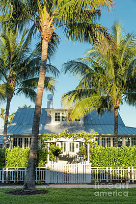 Photograph - Bones Cottage Naples Florida by Brian Jannsen