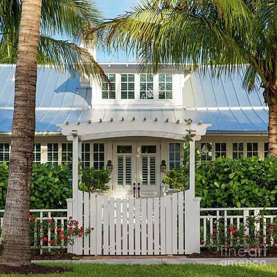 Photograph - Bones Cottage Naples Florida II by Brian Jannsen