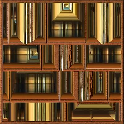 Digital Art - Bookcase by Mario Carini
