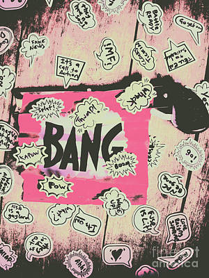 Comics Royalty-Free and Rights-Managed Images - Boom crash bang by Jorgo Photography - Wall Art Gallery