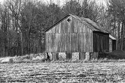 Photograph - Boonies Barn 2018 by Thomas Young