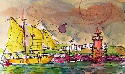 Painting - Boothbay 4 by Jason Nicholas