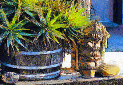 Photograph - Boots And Barrels Detail by Barbara Snyder