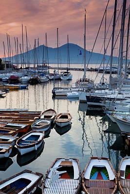 Photograph - Borgo Marina And Mt. Vesuvius by Richard I'anson
