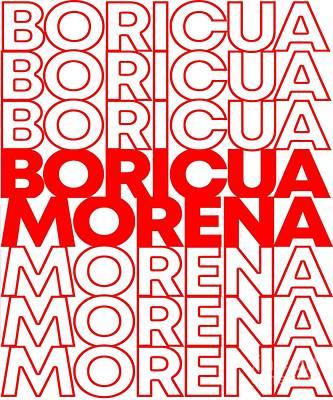 Digital Art - Boricua Morena Puerto Rican by Flippin Sweet Gear
