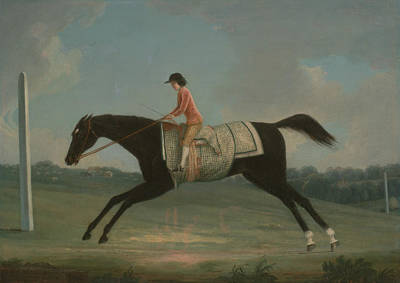 Painting - Borlase Cokayne As A Boy Riding Sultana by Thomas Smith of Derby
