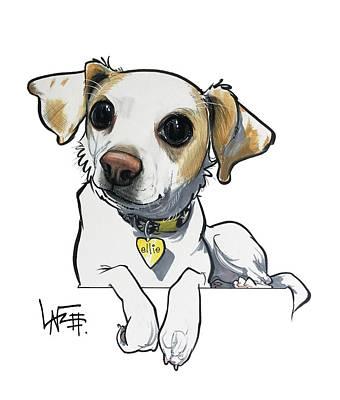 Drawing - Bosco 5160 by John LaFree