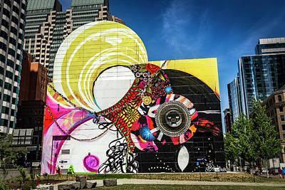 Photograph - Boston Art Wall Series 4844 by Carlos Diaz