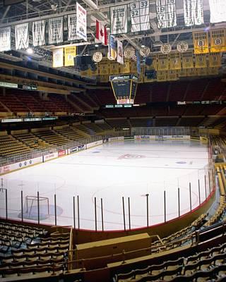 Photograph - Boston Bruins Boston Garden by Steve Babineau