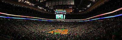 Photograph - Boston Celtics At Td Garden  by Juergen Roth